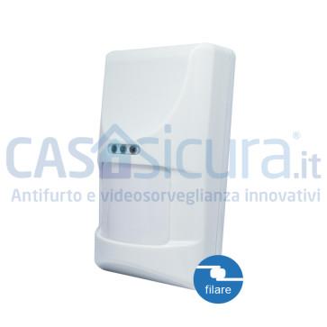 Sensore movimento filare volumetrico PIR
