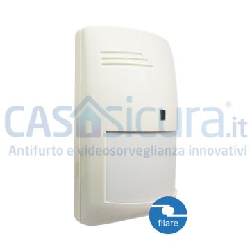Sensore filare movimento-volumetrico PIR+MW Tripla tecnologia