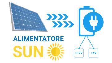 Alimentatore solare: alimenta dispositivi sfruttando l'energia solare con batteria fino a 24 ore su 24