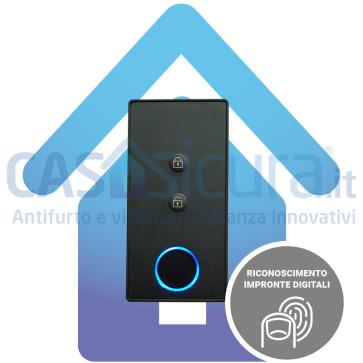 Lettore impronte digitali, dispositivo biometrico per antifurto senza fili
