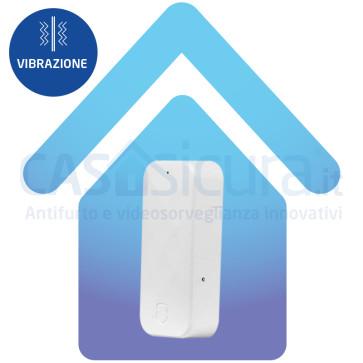 Sensore inerziale sismico (vibrazione e rottura vetri) modello SLIM - Infinity