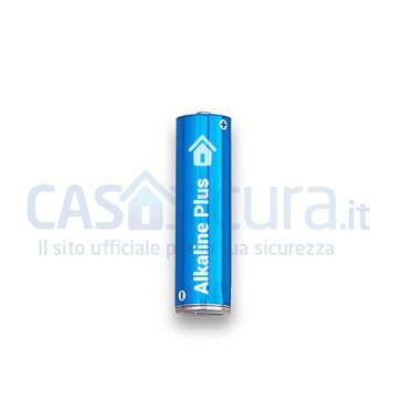 Batteria di marca (Duracell, Energizer, Varta o similare) Alkaline Plus 1,5V - AA