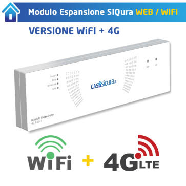 Modulo espansione 4G + WIFI per centrale Siqura Web / WiFi
