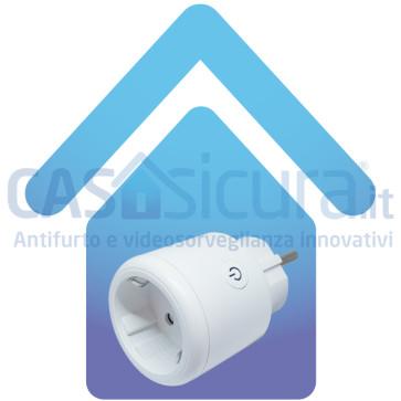 Presa intelligente Plug & Play  - APP ed Assistente Vocale - Monitoraggio Consumi