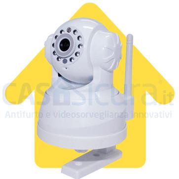 Telecamera IP senza fili da interno SLIM