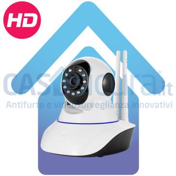 Telecamera IP senza fili da interno, alta definizione HD 8.0, robotizzata