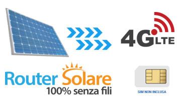 Router solare 4G: internet wifi senza corrente elettrica, 24 ore su 24, 365 giorni l'anno