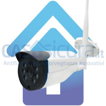 Telecamera compatibile con App Casasicura.it. Modello da esterno