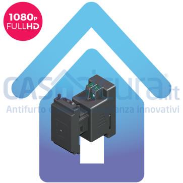 Microcamera / Telecamera spia WIFI FULL HD 1080P da incasso UNIVERSALE interno / esterno con audio IR invisibile