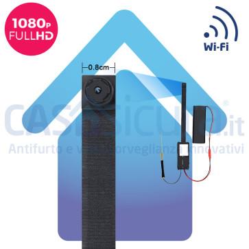 Micro telecamera spia WIFI risoluzione FULL HD - Modello SLIM