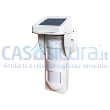 Sensore da esterno ad altissima affidabilità (quintupla tecnologia) completamente senza fili
