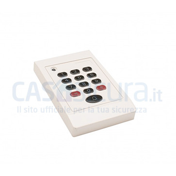 Tastiera a codice numerico via radio