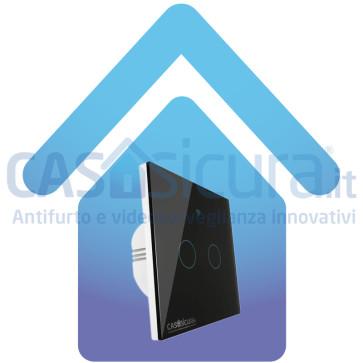 Interruttore touch smart senza fili, installazione Facile - Gestibile da APP ed assistente Vocale