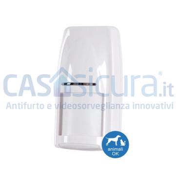Sensore movimento volumetrico PIR+MW Tripla tecnologia