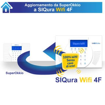 Aggiornamento da Superokkio (qualsiasi versione) a Siqura Wifi 4F