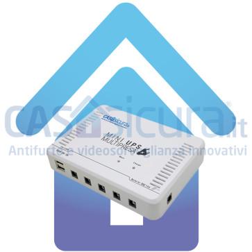 Super gruppo di continuità UPS per sistemi di allarme, telecamere, router, ecc