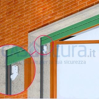 Sensore tapparelle nuovo tipo senza fili con tecnologia - Antifurto per finestre ...