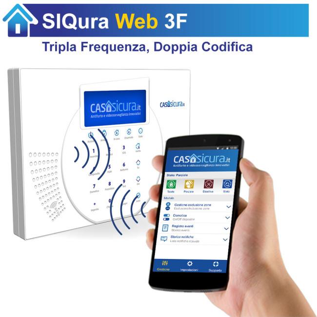 Centralina siqura web centrale tripla frequenza internet - App casasicura ...