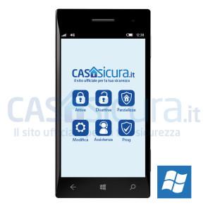 App gestione remota per Windows Phone