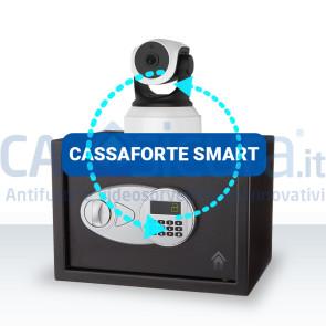 Cassaforte smart con telecamera
