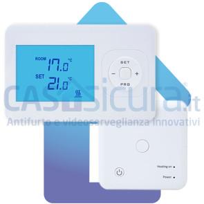 Termostato smart a batteria, con APP e comandi vocale - Installazione facile e nessun abbonamento