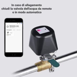 Elettrovalvola SMART - Manipolatore universale per valvole, miscelatori, rubinetti meccanici gas - metano - acqua