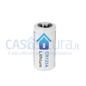 Batteria litio CR123A