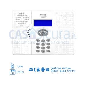 Centralina Superokkio 6X TRIPLA Frequenza per linea fissa + GSM/3G/4G + SMS + WEB
