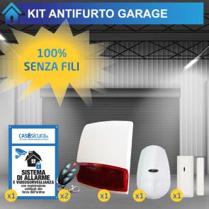 Antifurto garage a batteria senza fili, ideale per box e cantina