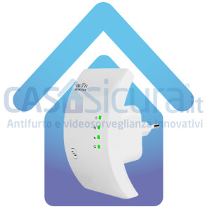 Adattatore LAN-Wifi (per trasformare la centrale web da ethernet a wifi)