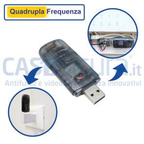 Modulo aggiornamento a quadrupla frequenza (4F) per qualsiasi centrale Siqura