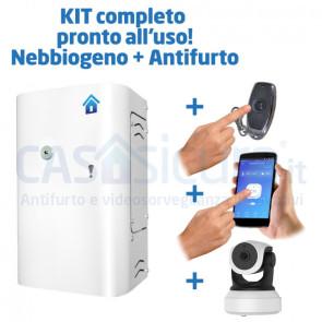Kit completo: Nebbiogeno Nebbiabox PRO + antifurto wifi versione BASIC