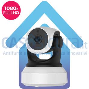 Telecamera IP senza fili da interno, alta definizione FULL HD 8.0, robotizzata