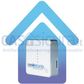 Router 3G/4G (adatto alla centralina di allarme e alle telecamere, in assenza di internet)