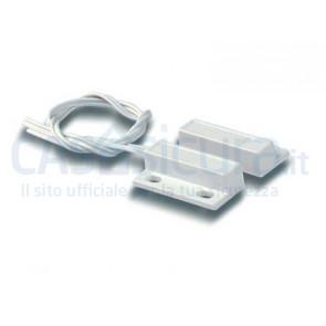 Sensore filare contatto magnetico porta finestra BIANCO