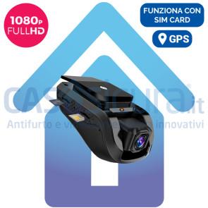 Dash Cam Telecamera per Auto 1080p FULL HD - Connessione 3G + WIFI - GPS integrato
