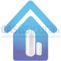 Sensore contatto magnetico porte finestre specifico per blindate, basculanti, ferro, metallo