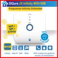 Centrale di allarme SIQURA JX Frequenze Infinity Unlimited + Internet + WiFi + SIM