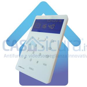 Tastiera LCD senza fili con visualizzatore di stato e lettore RFID