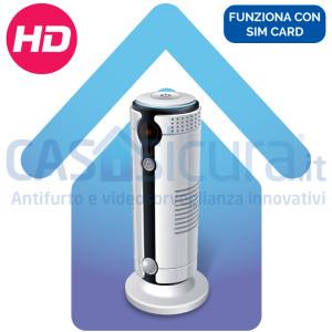 Telecamera 3G/4G con SIM card videosorveglianza ***SENZA*** bisogno di internet, 8.0, audio e video HD