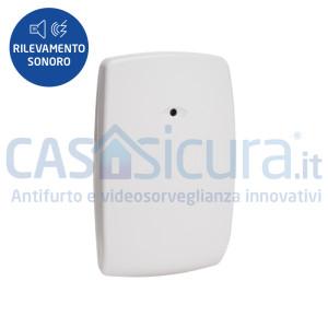 Sensore intelligente rilevazione effrazioni SBS (Sound Barrier Sensor) senza fili