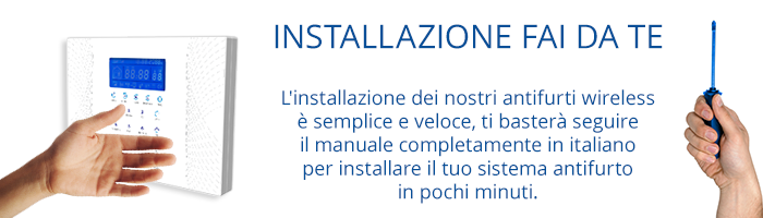 Come installare un antifurto for Proxe vigila 3 manuale